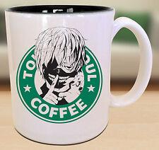 Tokyo Ghoul Ken Kaneki Starbucks Anime Manga Japanese Insipred Cartoon Mug
