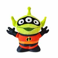 "Disney Authentic Toy Story Alien Remix The Incredibles Plush Toy Doll 8 1/2"" H"