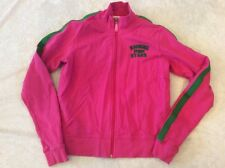 Victoria's Secret Small Women's Jacket Pink Shining Stars Full Zipper Sweatshirt