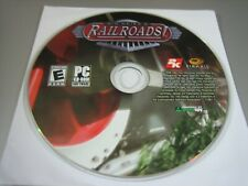 Sid Meier's Railroads (PC, 2006) - Disc Only!!!!