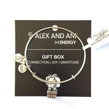 Alex and Ani NWT Gift Box Bangle Silver w/card in white gift box $18.99