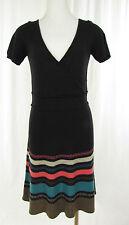 PROMOD Strickkleid Long Pullover Dress Vestido schwarz,braun,grün,rosa  Gr. 34