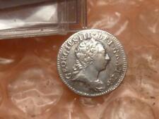 Original 1772 George Iii Revolutionary War Era Silver Maundy Penny Rare #2