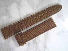 VINTAGE NOS GENT'S 18X16 MM ROLEX BROWN LIZARD BAND STRAP                  *6876