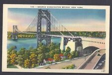 Ca 1932 POST CARD GEORGE WASHINGTON BRIDGE NYC. MINT