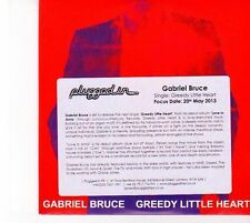 (DZ785) Gabriel Bruce, Greedy Little Heart - 2013 DJ CD