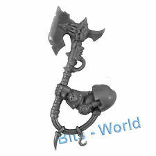 WARHAMMER 40K BITS: CHAOS SPACE MARINES TERMINATOR LORD/SORCERER - POWER AXE
