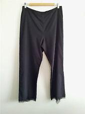 Pure Style! Vertice (N.Z.) size 16 black viscose blend dress pants