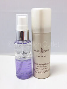 Neal & and Wolf Control Flexible Styling Hairspray 50ml & Miracle Mist 50ml Duo