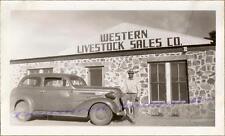 El Paso Texas Western Livestock Sales 1937 Chevy Chevrolet Two-Door Sedan Photo