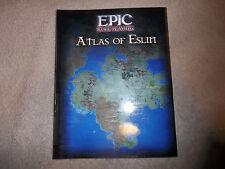 Epic Roleplaying Rpg Atlas of Eslin