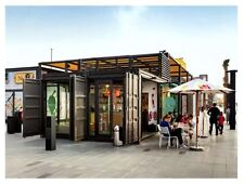 Modular Container House Office shop for Customization,price for 1 square ft