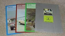 Mercedes 350SE 450SE 450SEL conjunto de 1977-1978 FOLLETO W116-mercado del Reino Unido