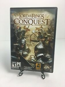 Lord of the Rings: Conquest (PC, 2009) w/ Manual & Key