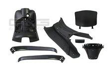 Innenraum Verkleidung 7 Verkleidungsteile Schwarz für Piaggio Vespa LX 50 125
