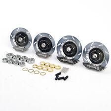 For HSP 1:10 RC On-Road Racing Car DIY Alloy Metal Wheel Rim Brake Disc 00145S
