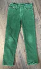 Polo by Ralph Lauren Boys Corduroy Pants Cords Green Size 10