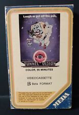 Tunnel Vision (BETAMAX) MEDA Media Home Ent (M105) (1978) Rare - Cult - NOT VHS