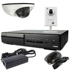 IP HI DEFINITION SURVEILLANCE KIT AVTECH AVH0401 NVR + 1TB HDD + 2x IP Cams