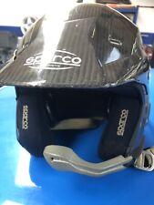 Sparco Carbon Fibre Rally Helmet Size Small Stilo Style