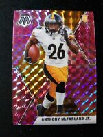 G73 2020 Mosaic Football ANTHONY MCFARLAND JR. RC Camo Pink Prizm Refractor #237