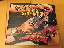 SNSD Girl's Generation All members Signed / 4th Mini Album / CD+Photobook / +GFT