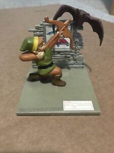 Vintage 1988 Legend Of Zelda Statue Nintendo Link Figure