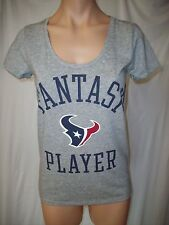 "NWT Victorias Secret ""PINK"" NFL Houston Texans ""Fantasy Player"" Tee Shirt XS"