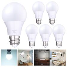6 Pack 9W Energy Saving LED Globe Light Bulb Lamp E27 6500K AC85-265V Cool White