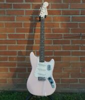 NEW 2020 Squier Paranormal Cyclone Shell Pink Electric Guitar