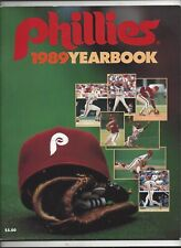 1989 Philadelphia Phillies Yearbook near mint- mint (see scan)