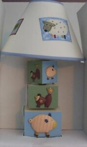 Kidsline COUNTRY STACK Lamp Light Sheep Pig Cow Baby Nursery