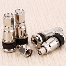 Tappo 4pz. Valvola Chrome Metallo Ruota Pneumatico Antipolvere Coprivalvole Auto