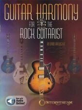 Armonia chitarra per la scheda Rock chitarrista Music LIBRO CON AUDIO