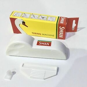 SWAN TUBE FILLING MACHINE TUBING MACHINE MAKE YOUR OWN CIGARETTE QUICK SMOKING
