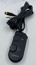 Creative MZ0005 for Subwoofer Speaker Volume / Bass Wired Remote Control
