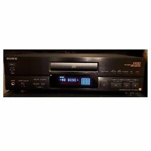 Vintage SONY CDP-X303ES CD Player  ES