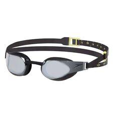 Speedo Fastskin Elite Mirror Swimming Goggles, Black, Racing Goggles
