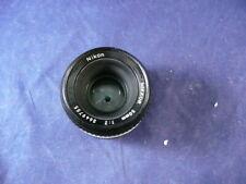 Nikon Nikkor 50mm 1:2 Lens