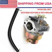 Carburetor For Honda 16100-Z0L-853 GCV160A GCV160LA GCV160LAO OEM US Shipping