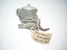 RENAULT DAUPHINE 760cc 1952-58 AC Delco FUEL PUMP new old stock