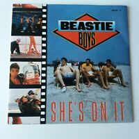"Beastie Boys - She's On It - 7"" Vinyl Single UK 1st Press NM/NM"