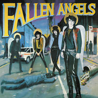 FALLEN ANGELS Vibrators' Knox + Hanoi Rocks 2xLP limited RSD coloured vinyl