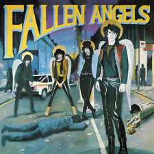 FALLEN ANGELS Vibrators' Knox + Hanoi Rocks 2xLP limited RSD coloured vinyl