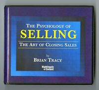 The Psychology of Selling: Brian Tracy Audiobook 7CDS Includes Work Book CD