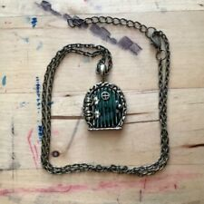 Lord of the Rings The Hobbit door hole locket necklace pendant Bag End