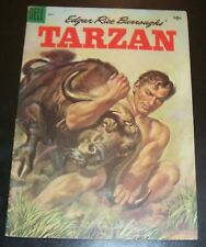 Edgar Rice Buttoughs' TARZAN 68 VF+ 8.5, 1955, DELL Painted Cover, Golden Age