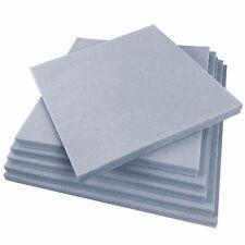 "Sporteq Upholstery Traditional Sofa Sheet Foam Cushion Seat Square Dining Room Grey Medium 14x14"" 1"""