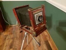 ANTIQUE Gundlach Camera  Medium format  Camera circa 1900 Agfa made in Rochester