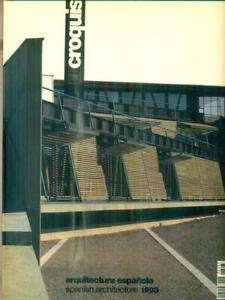 EL CROQUIS 62/63 - V-1993  AA.VV. EL CROQUIS 1993